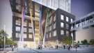 A mock-up of the Google's Kitchener building. (Provided by Google)