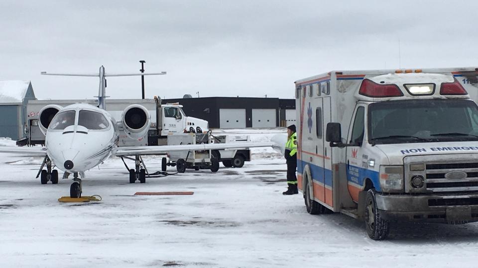 Plane carrying Anika Walters returns