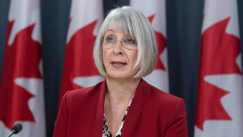 Minister of Health Patty Hajdu speak about Canada's efforts to evacuate citizens from China during a news conference in Ottawa, Thursday, February 6, 2020. THE CANADIAN PRESS/Adrian Wyld