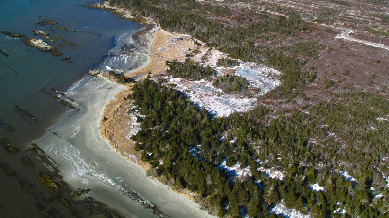 The coastal barrens and wetlands known as Owls Head is shown in a handout photo. The Nova Scotia government is pressing ahead with entertaining the potential sale of a section of rugged Crown-owned land along the province's Eastern Shore to private developers, despite growing public opposition. (THE CANADIAN PRESS/HO-Nova Scotia Nature Trust)