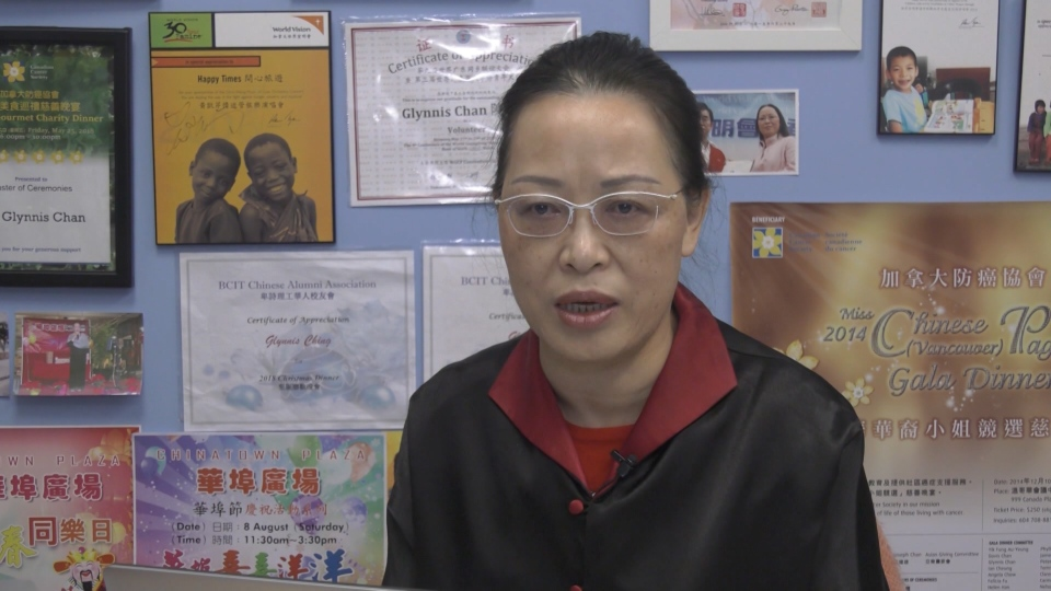 Glynnis Chan, the owner of Happy Times Travel, says her business is suffering as the coronavirus outbreak grows.