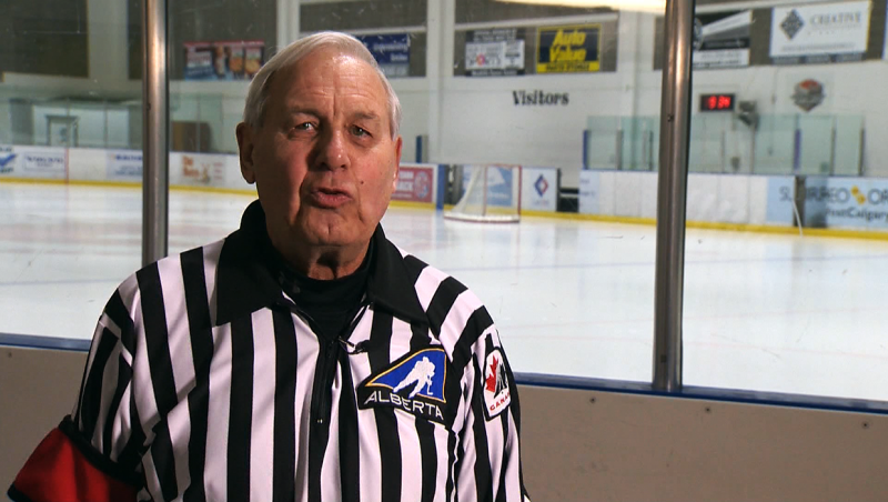 71-year-old Barry Burton is happiest when he's refereeing and he's our Athlete of the Week. Glenn Campbell reports.