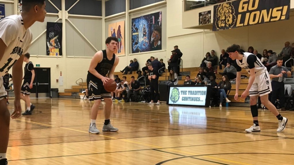 Josh Soifer of the Luther Lions set the all-time single tournament scoring record at the 2020 Luther Invitational Tournament. (Stefanie Davis/CTV News)