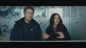 Comedy heavyweights Will Ferrell and Julia Louis-Dreyfus star in the dark comedy Downhill.