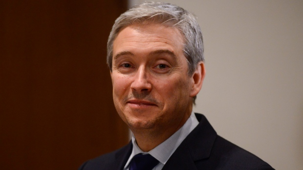 Minister of Foreign Affairs Francois-Philippe Champagne takes part in a meeting in Addis Ababa, Ethiopia, Sunday, Feb. 9, 2020. (THE CANADIAN PRESS / Sean Kilpatrick)