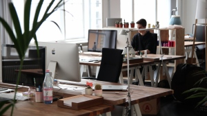 An office is seen in this file photo. (Marc Mueller / Pexels)