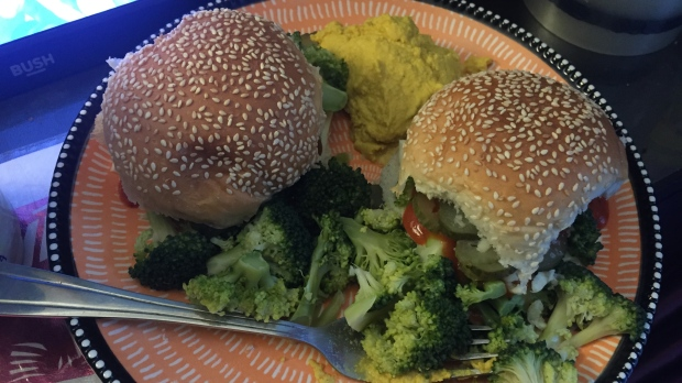 Broccoli and burgers
