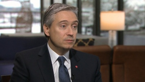 CTV QP: Champagne on Canadians leaving China