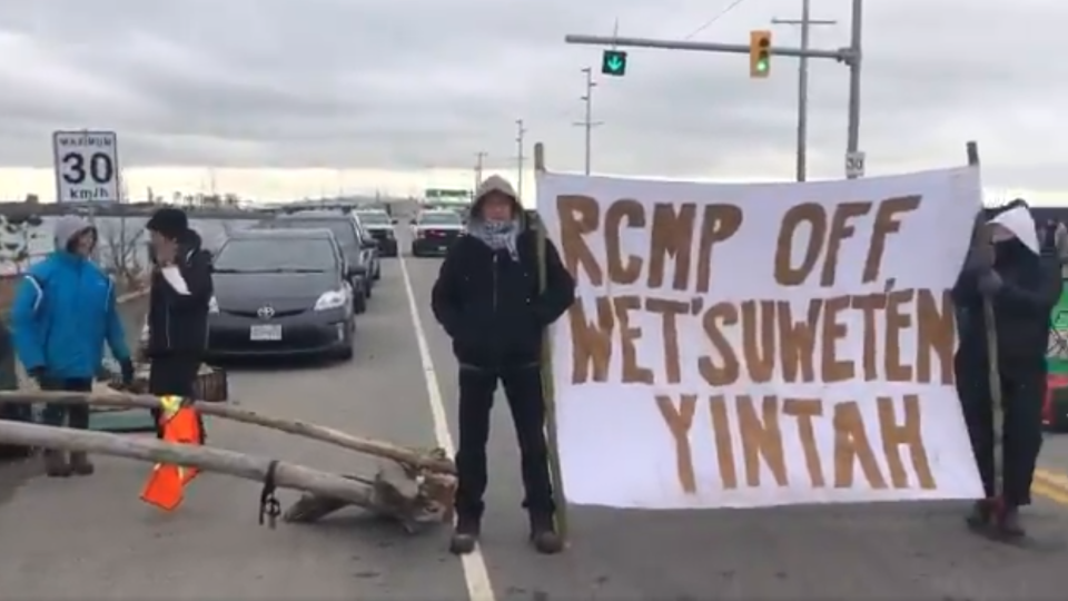 Deltaport Protest