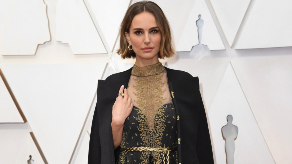Natalie Portman arrives at the Oscars on Sunday, Feb. 9, 2020, at the Dolby Theatre in Los Angeles. (Photo by Richard Shotwell/Invision/AP)