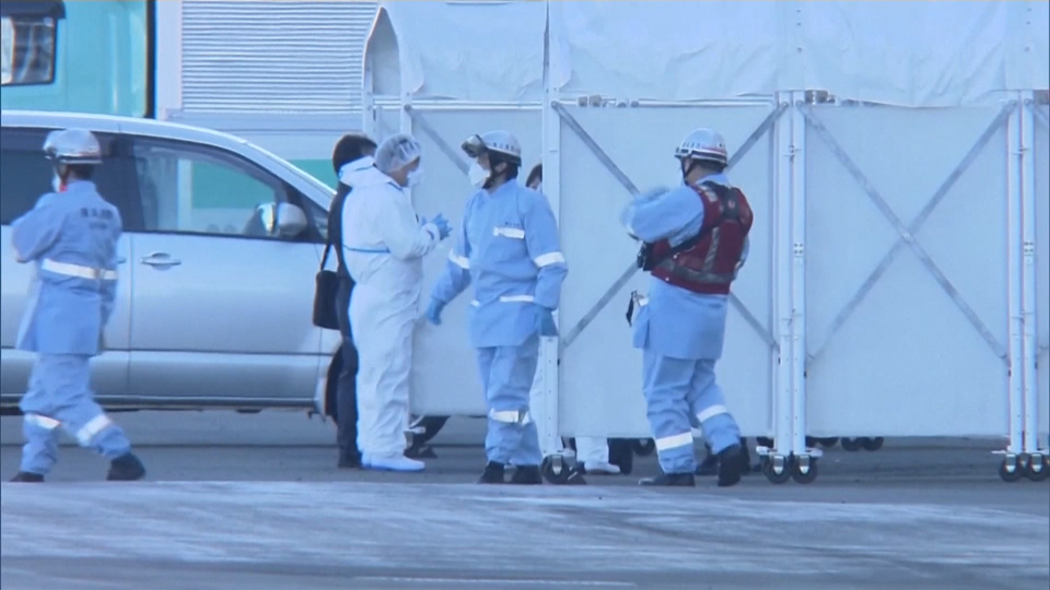 There were more than 3,700 guests and crew on board when the quarantine began on Feb. 4, 2020. As of Feb. 9, 60 people have tested positive for the novel virus and have been escorted off by medical officials; seven are Canadian.