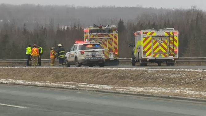 Highway 102 collision
