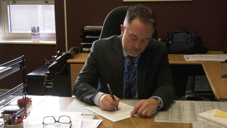 Dave Landers, CAO of the City of Timmins