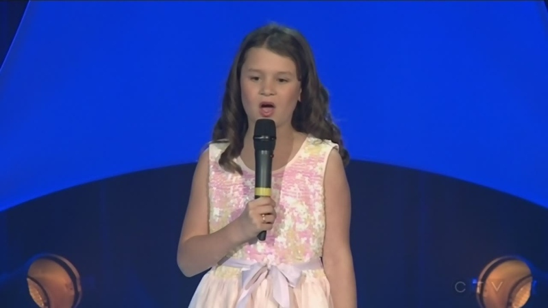 Gianna Scott performs Mary Did You Know