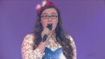 Ella Koskela singing for the CTV Lions Telethon