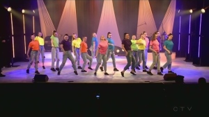 St. Charles College Dance group