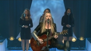 JoPo performs at the CTV Telethon
