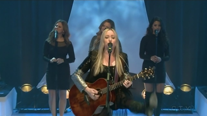 JoPo performs at the CTV Telethon