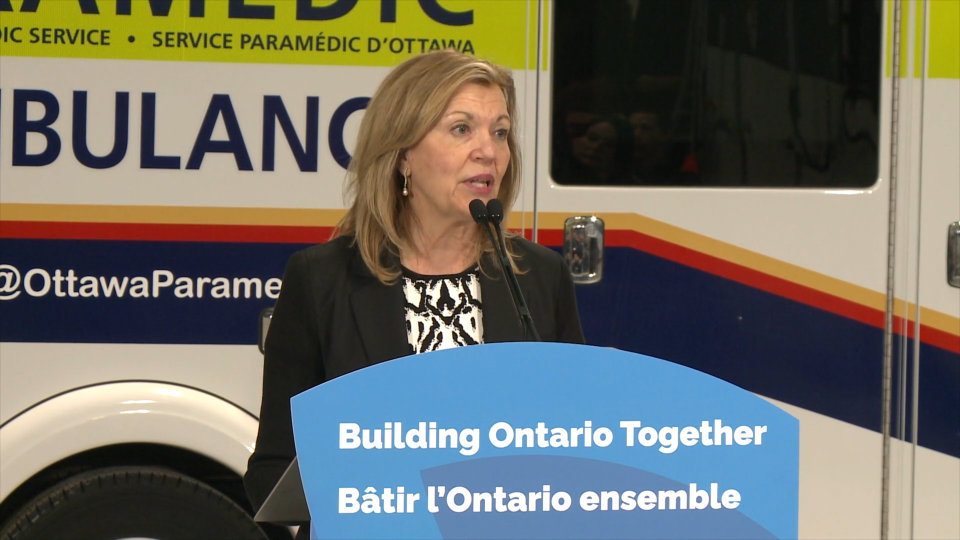 'All too frequently people can't get the care they need, when they need it the most,' Health Minister Christine Elliot said at a news conference in Ottawa on Monday, Feb. 10, 2020.
