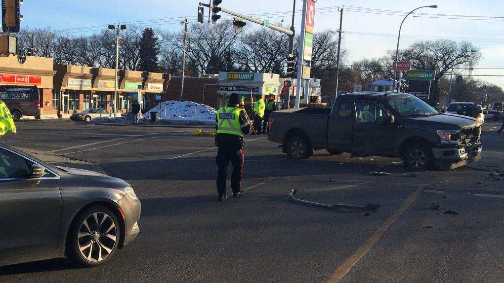 Whyte Avenue crash