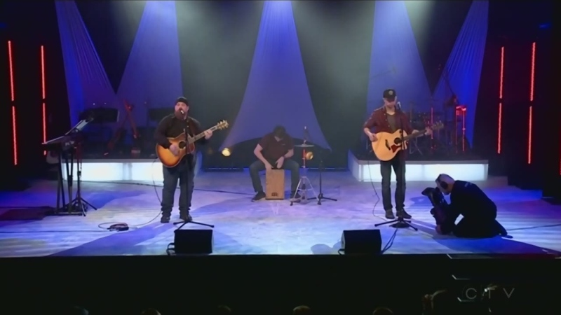 Outsider perform at the CTV Lions Telethon