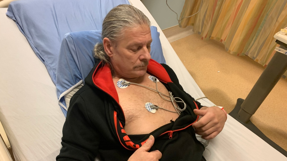 Abbotsford resident Daniel Robert Krinbill says he had to fight for an angiogram after doctors took issue with his Do Not Resuscitate order.