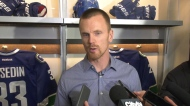 Canucks celebrate Sedin Week