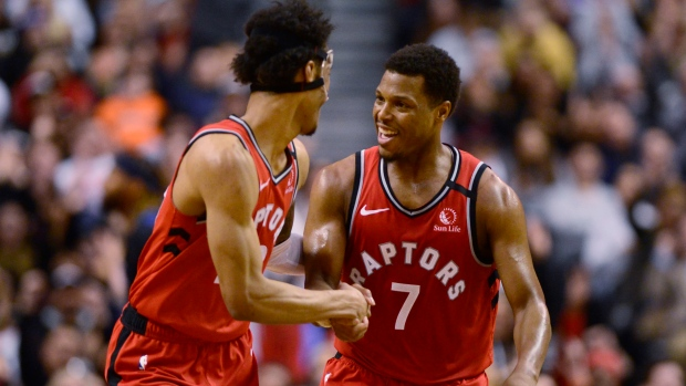 Raptors beat Timberwolves to win a Canadian-record 15 consecutive games