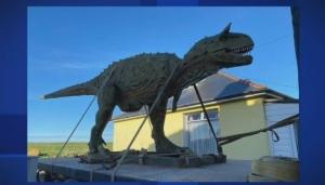Dinosaur delivered