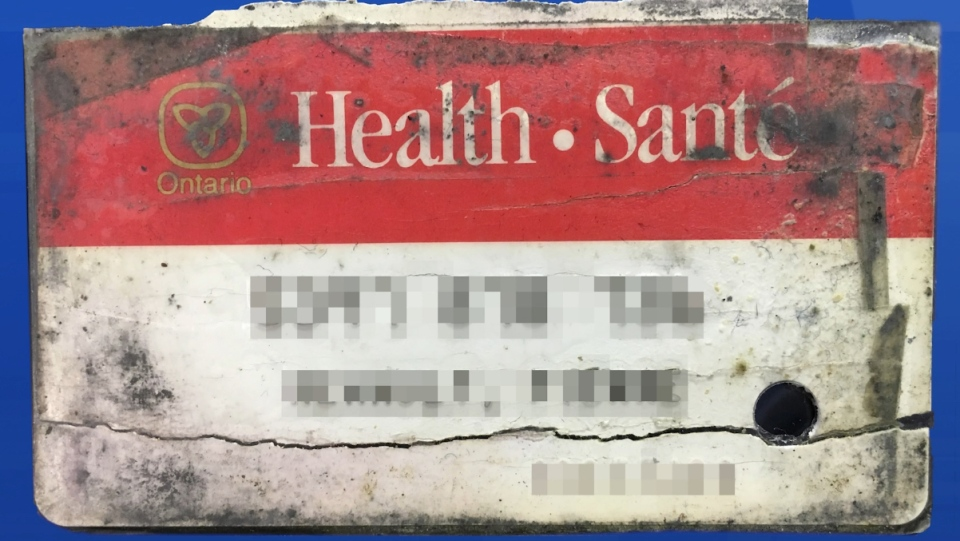Old-style Ontario health card