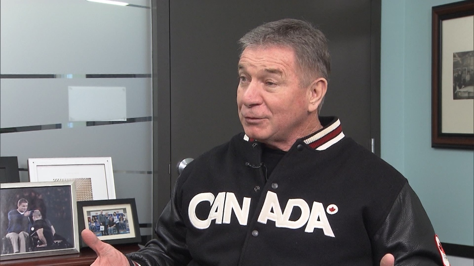 Rick Hansen shared memories from the 2010 OIympic Games on Feb. 11, 2020.