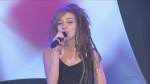 Samara Daout sings for the CTV Lions Telethon