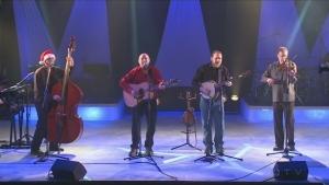 Nickel City Blue Grass Band Christmas performance
