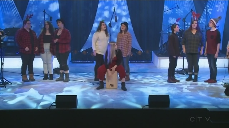 Northern Lights performs at the CTV Lions Telethon