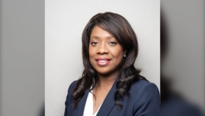Toronto lawyer Leslyn Lewis is running for leadership of the federal Conservative party. (Leslyn Lewis / Twitter)