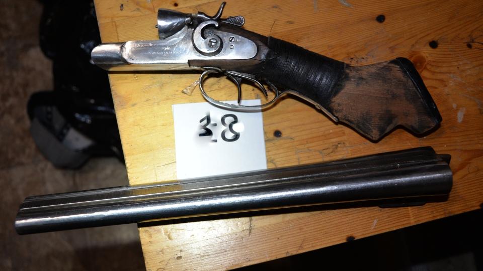 Sawed-off shotgun found during Timmins drug bust