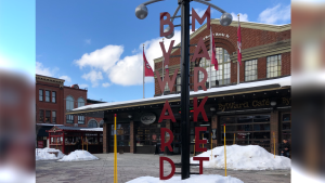 A sunny afternoon in the ByWard Market, Feb. 12, 2020.