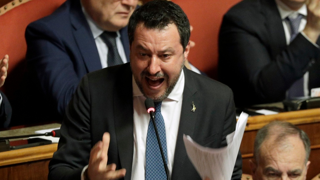 Italy Senate votes for far-right leader Salvini to face trial