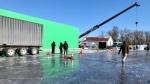 CTV's Jon Hendricks gives you a sneak peek on set of a new movie staring Liam Neeson and Laurence Fishburne. (Source: Jon Hendricks/ CTV News Winnipeg)