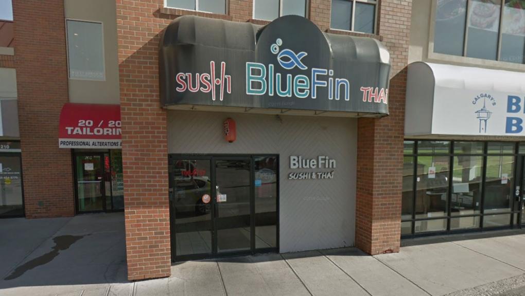 calgary, bluefin sushi, alberta health services, a