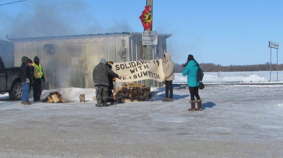 Wet'suwet'en protests Manitoba