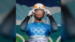 Nodar Kumaritashvili of Georgia is seen at the start during the first training run for the men's singles luge at the Vancouver 2010 Olympics in Whistler, British Columbia, Friday, Feb. 12, 2010. THE CANADIAN PRESS/AP-Elise Amendola