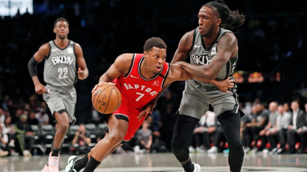 Raptors' record-breaking winning streak comes to an end with loss to Nets