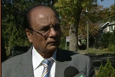 Mazar Khan says the vandals are causing pain (Sept. 19, 2009)
