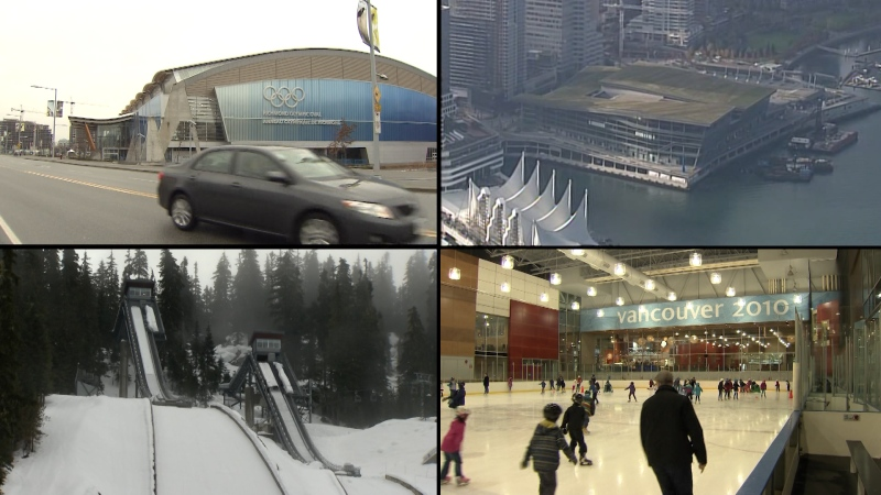 Ten competition venues were built or upgraded for the 2010 Games, with several others available as practice facilities for athletes. They range from the Whistler Olympic Park to the Richmond Olympic Oval 120 km away on the banks of the Fraser River.