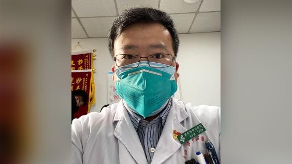 Doctor Li Wenliang sounded one of the first warnings on the Wuhan coronavirus, and was silenced by Chinese authorities. (CNN)