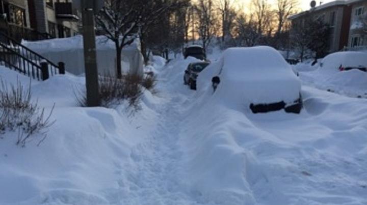 Mercier-Hochelaga-Maisonneuve snow clearing