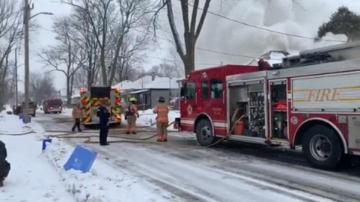 Francis Street Fire