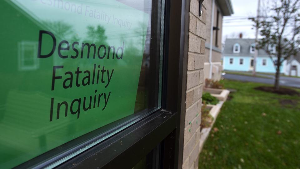 The Desmond Fatality Inquiry is being held at the Guysborough Municipal building in Guysborough, N.S. The inquiry is investigating why a mentally-ill Afghanistan war veteran fatally shot three members of his family before killing himself. (THE CANADIAN PRESS/Andrew Vaughan)