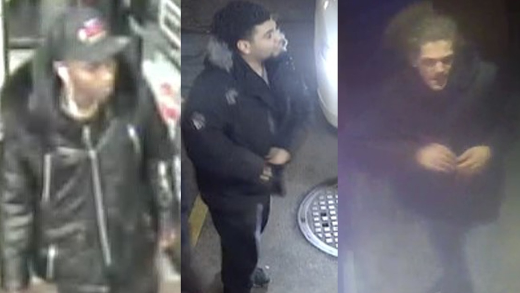 Montreal police are seeking these three suspects